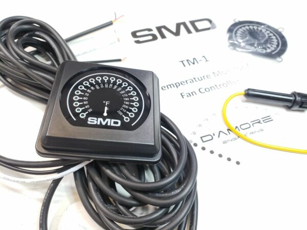 SMD TM 1 Temperature Meter Fan Controller Steve Meade Designs 600x450 - SMD TM-1 Temperature Monitor and Programmable Fan Controller