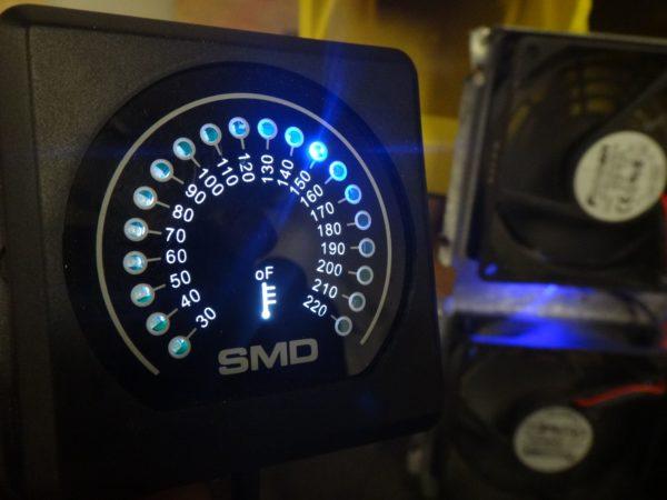 Temperature Sensor Fan Controller SMD TM 1 Steve Meade Designs 600x450 - SMD TM-1 Temperature Monitor and Programmable Fan Controller