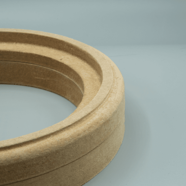 "MDF F3 Double Subwoofer Speaker Mounting Spacer Ring 600x600 - 10"" Flush MDF F3 Double Subwoofer Mounting Ring Spacer v1"