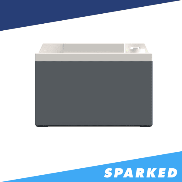 PS925 side XS Power 12V AGM Powersports Battery 600x600 - PS925 XS Power 12VDC AGM Powersports Battery 2000A 32Ah