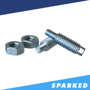"XS Power 587 M6 to 38 Stud Adaptors Zinc Plated Hardened Steel 300x300 - XS Power 587 M6 to 3/8"" Stud Adaptors, Zinc Plated Hardened Steel"
