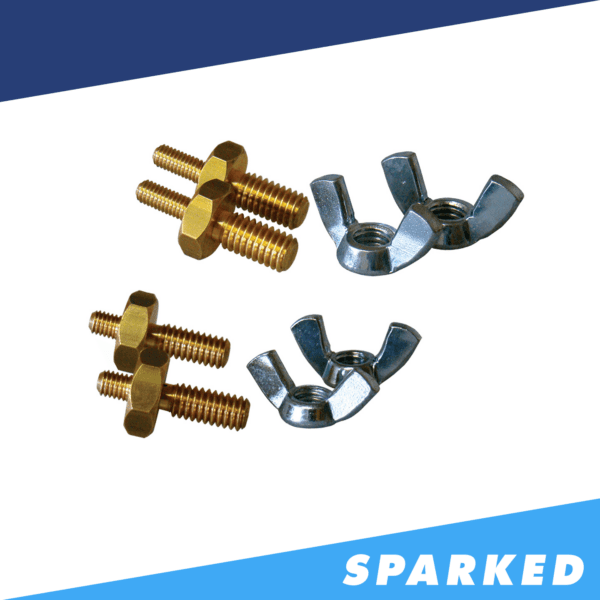 "XS Power 588 516 2 and 38 2 Stud Adaptor Kit 600x600 - XS Power 588 5/16"" (2) and 3/8"" (2) Stud Adaptor Kit"
