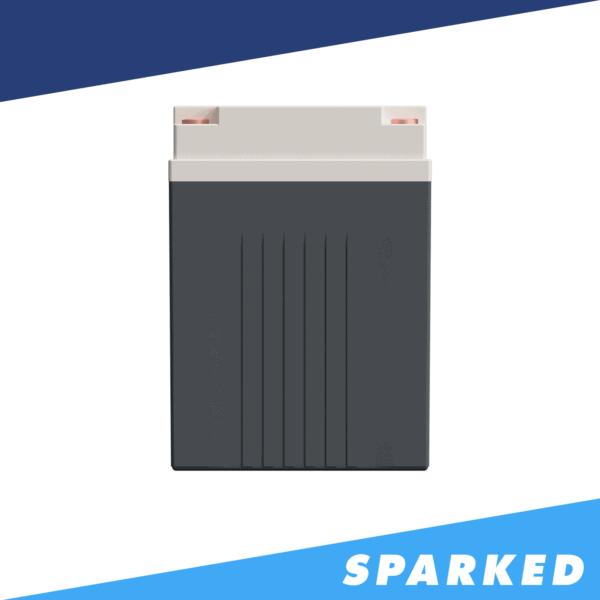 XS Power SB150 30Q SuperBank Ultracapacitor Module 150F 12V 3000A side 600x600 - XS Power SB150-30Q SuperBank Ultracapacitor Module 150F 12V 3,000A